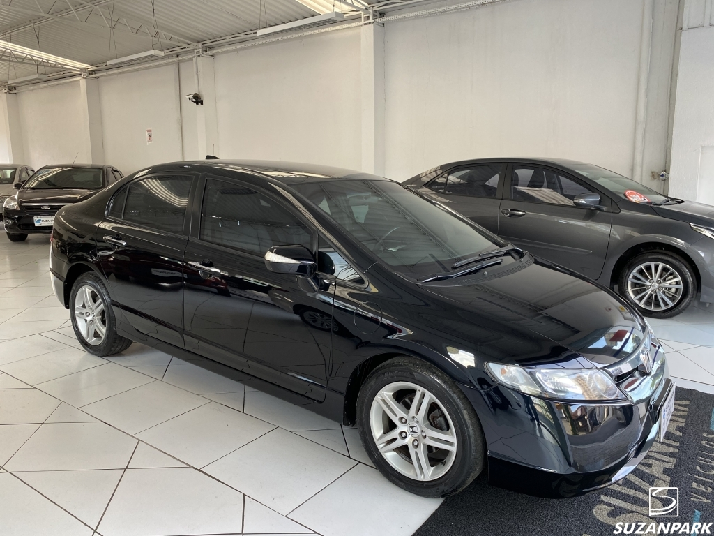 HONDA CIVIC EXS 1.8 BLINDADO